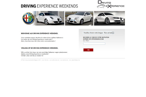 Dealer Driving Experience