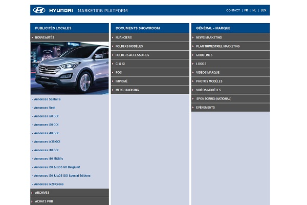 Hyundai Marketing Platform